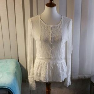 Women's lace top